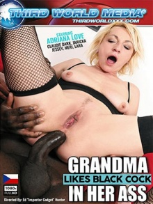 Grandma Likes Black Cock In Her Ass (720p)